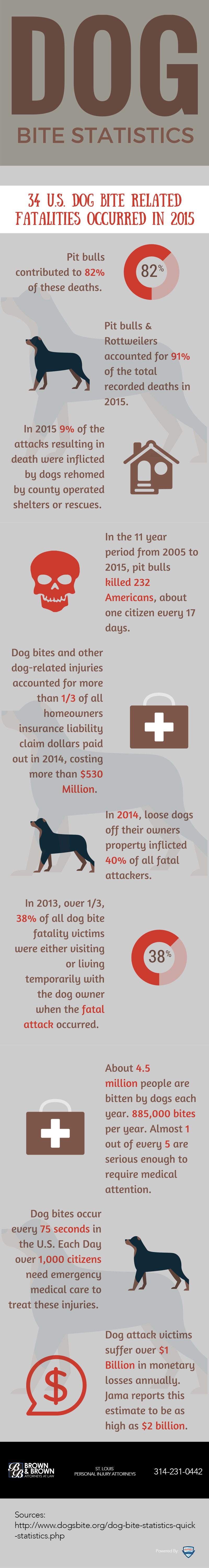 Serious Dog Bites Happen More Often Than You May Realize [Infographic]