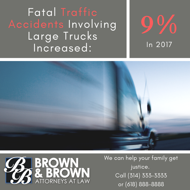 There Has Been a 9% Increase in Fatal Car Accidents Involving Large Trucks