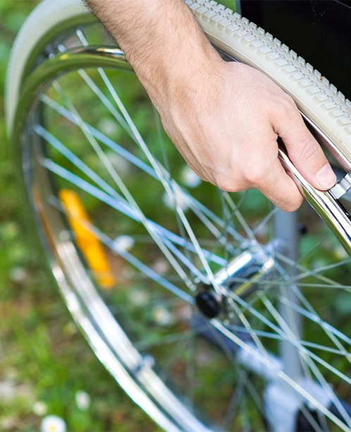 Injured Person in a Wheelchair - Our Personal Injury & Accident Attorneys Can Help